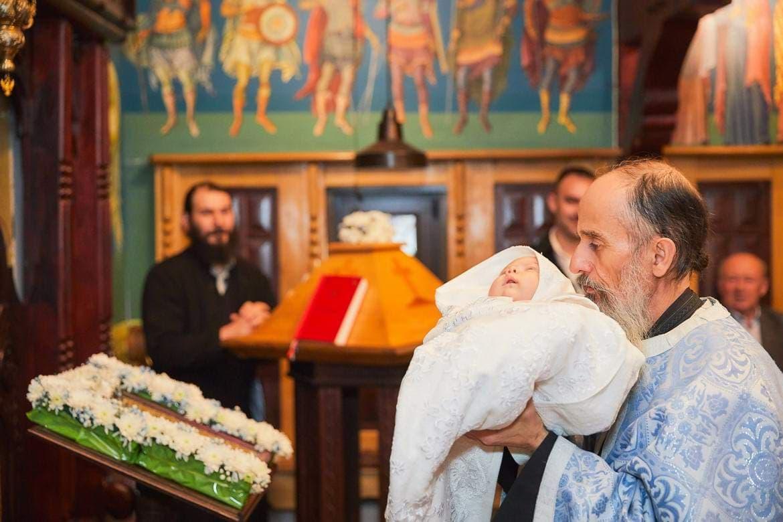 Foto din ziua botezului Brasov