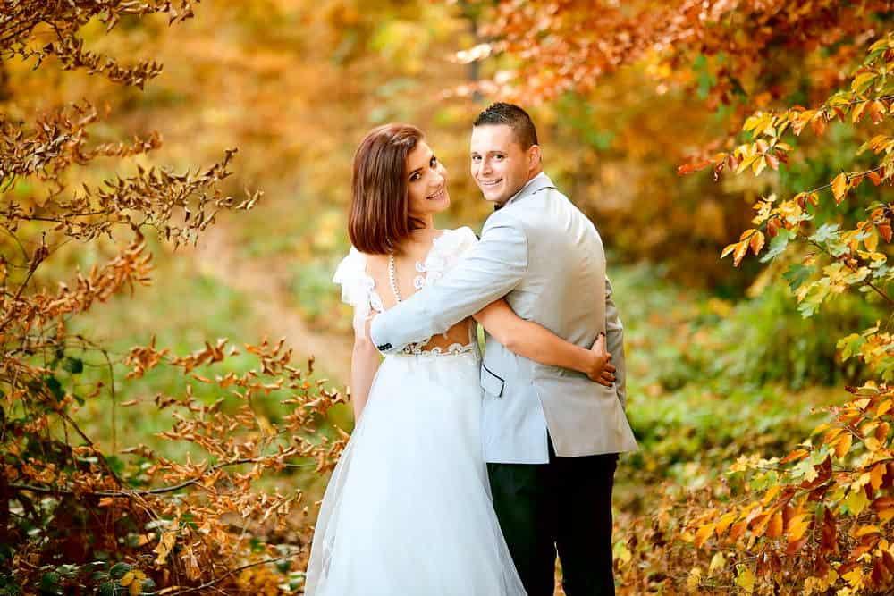 Fotografii de nunta toamna