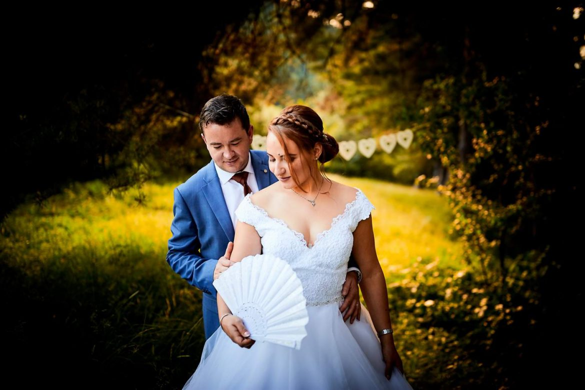 Fotografii romantice de nunta
