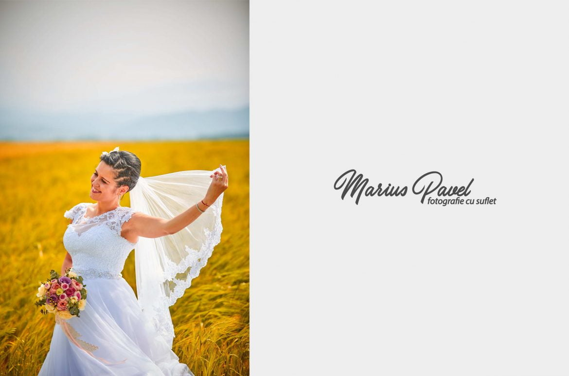 Trash the dress in lanul de grau
