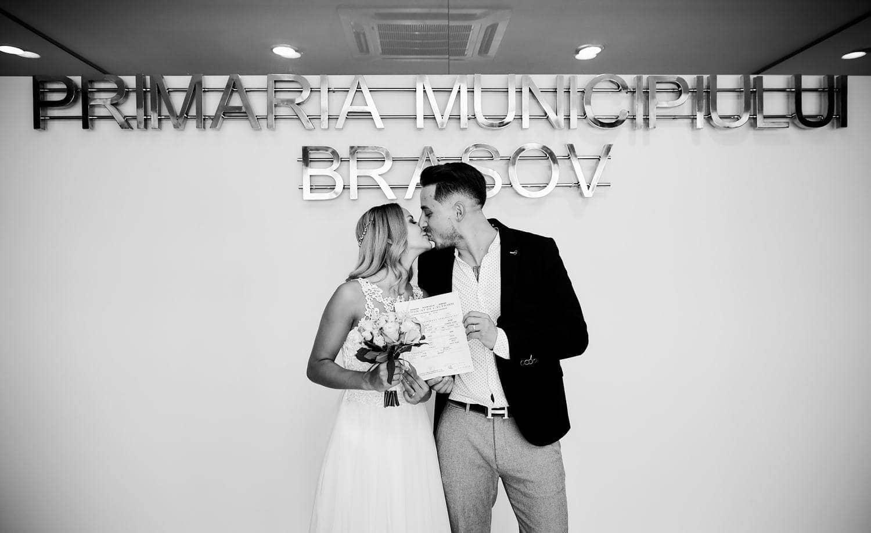 Fotograf cununie civila Primaria Brasov