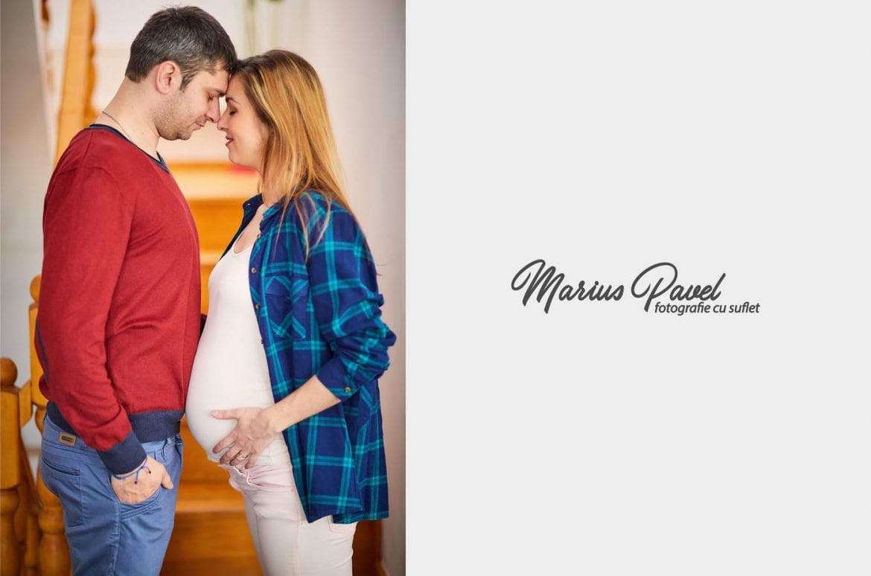Sedinta foto graviduta la 9 luni Brasov