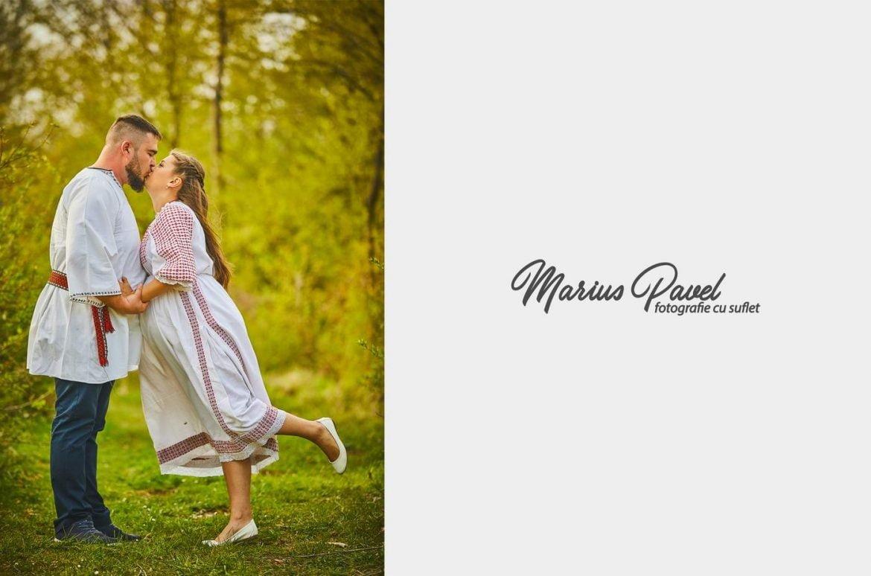 Fotografii gravida costum popular romanesc
