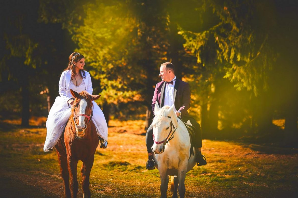 Trash the dress Castelul Peles Sinaia