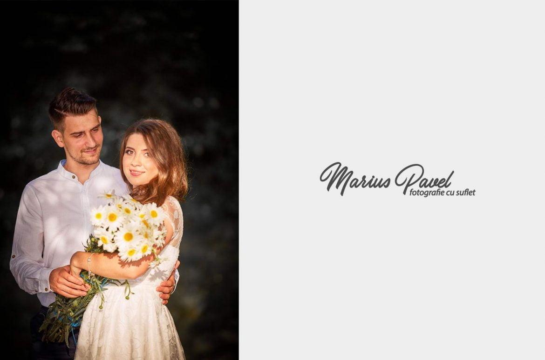 Sedinta foto cuplu apusul soarelui in Brasov