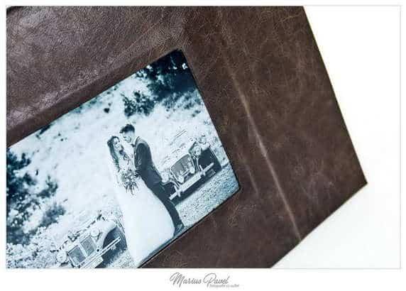 Album din piele personalizat