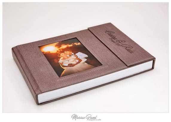 Album nunta piele lux Braso
