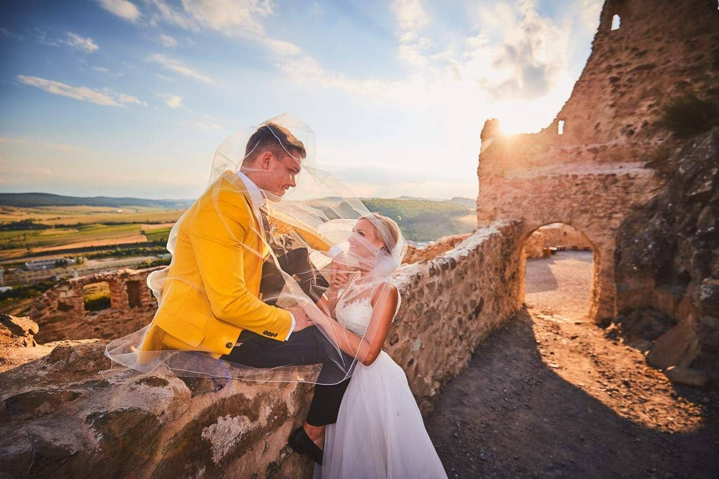 Trash the dress Cetatea Rupea