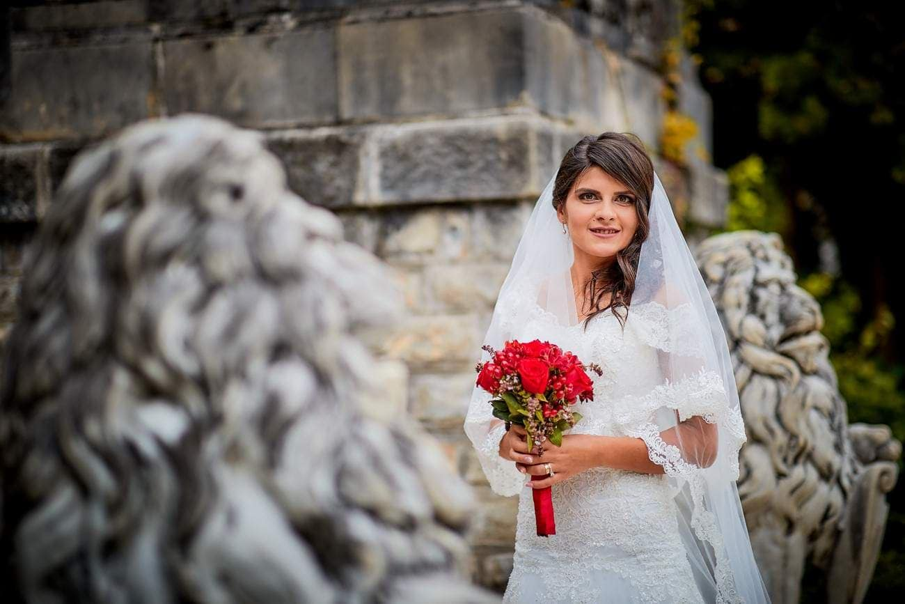 Trash the dress Sinaia