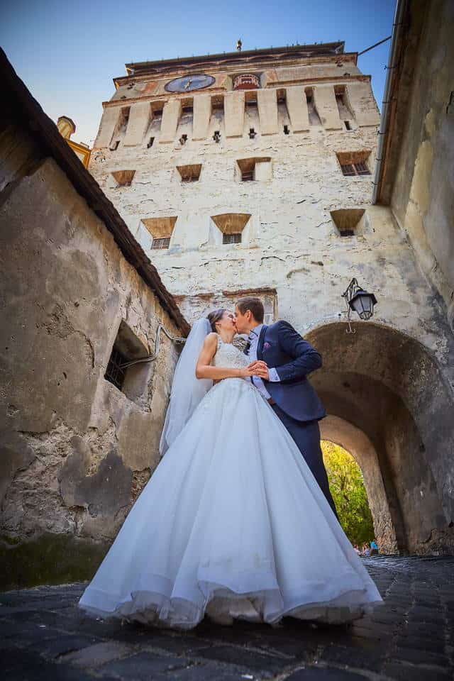 Trash the dress Sighisoara