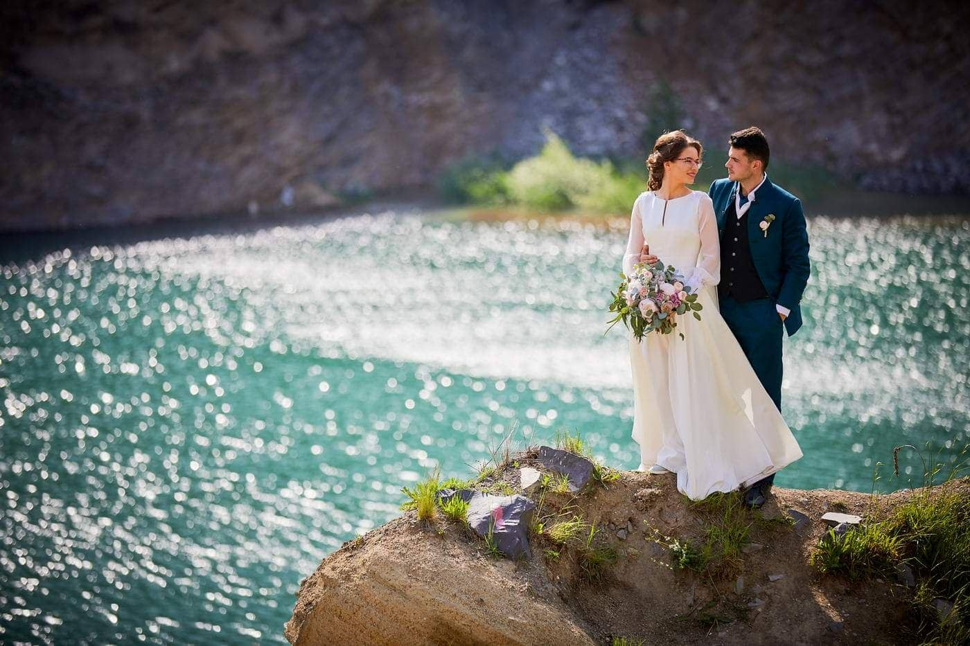 Trash the dress cu mirii