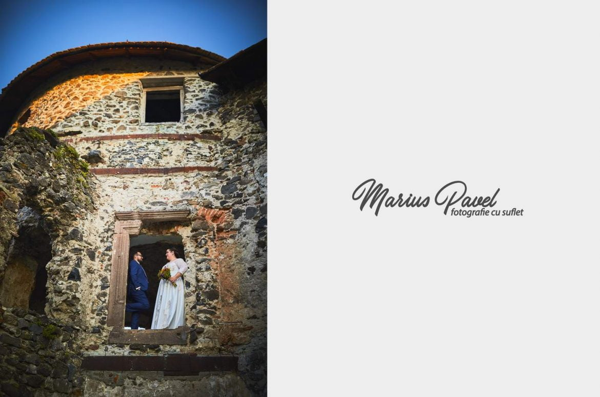 Trash the dress Cetatea Bethlen – Lacul de Smarald
