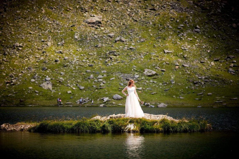 Trash the dress Transfagarasan – Cascada Balea