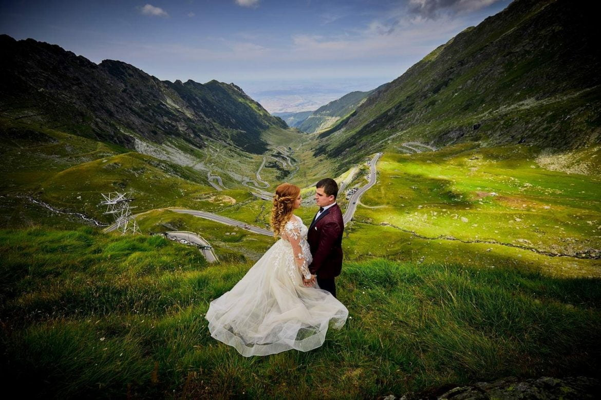 Trash the dress Transfagarasan - Cascada Balea