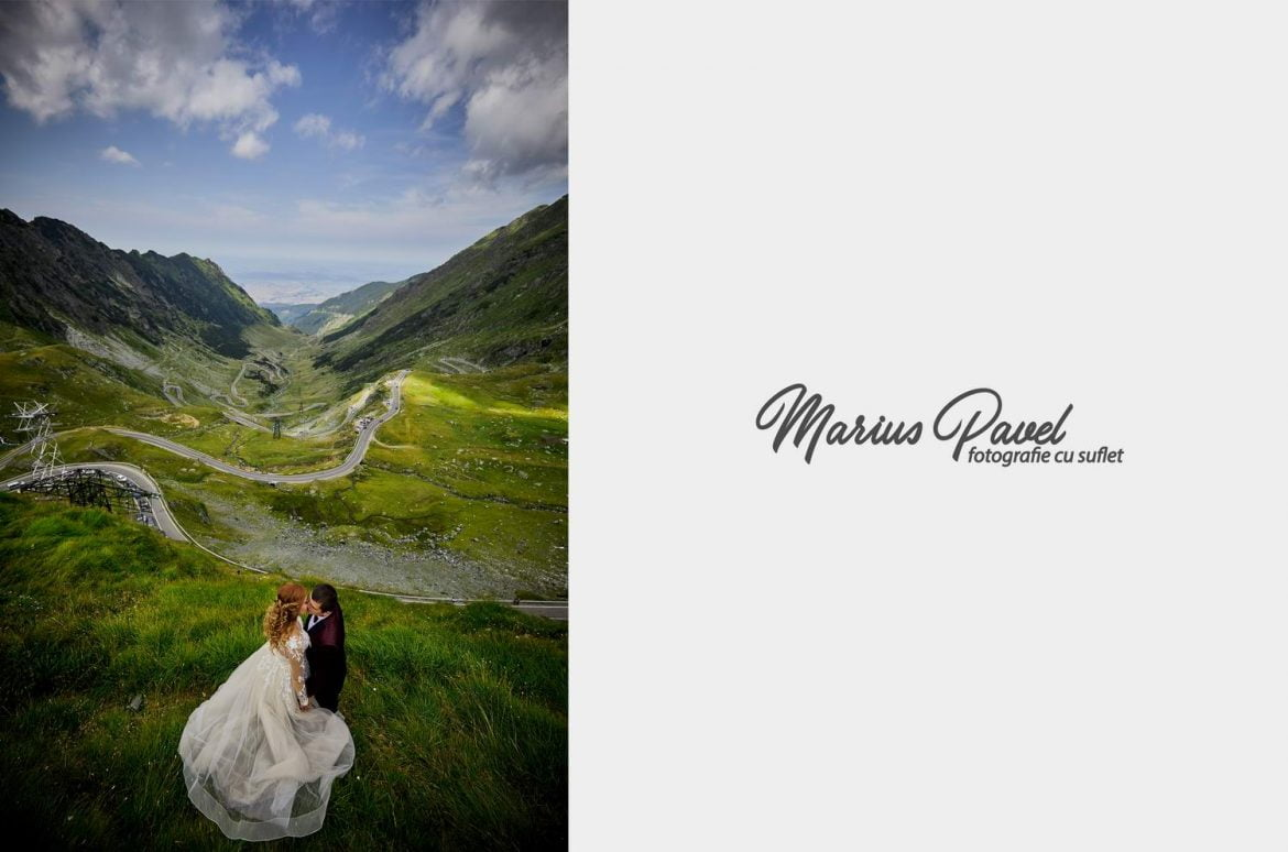 Trash the dress Transfagarasan – Cascada Balea
