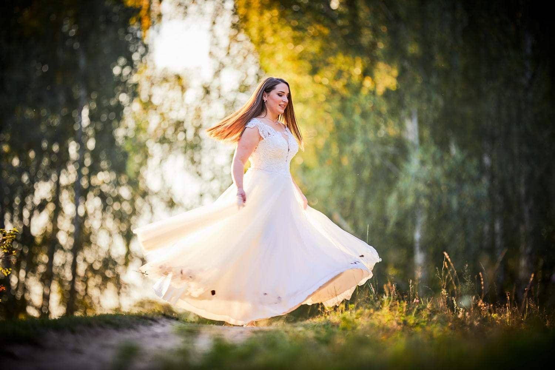 Trash the dress cu mirii