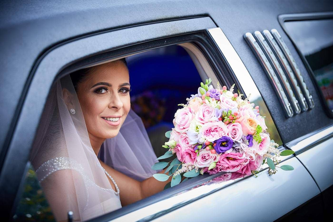 Buchet mireasa si lumanari nasi nunta Brasov