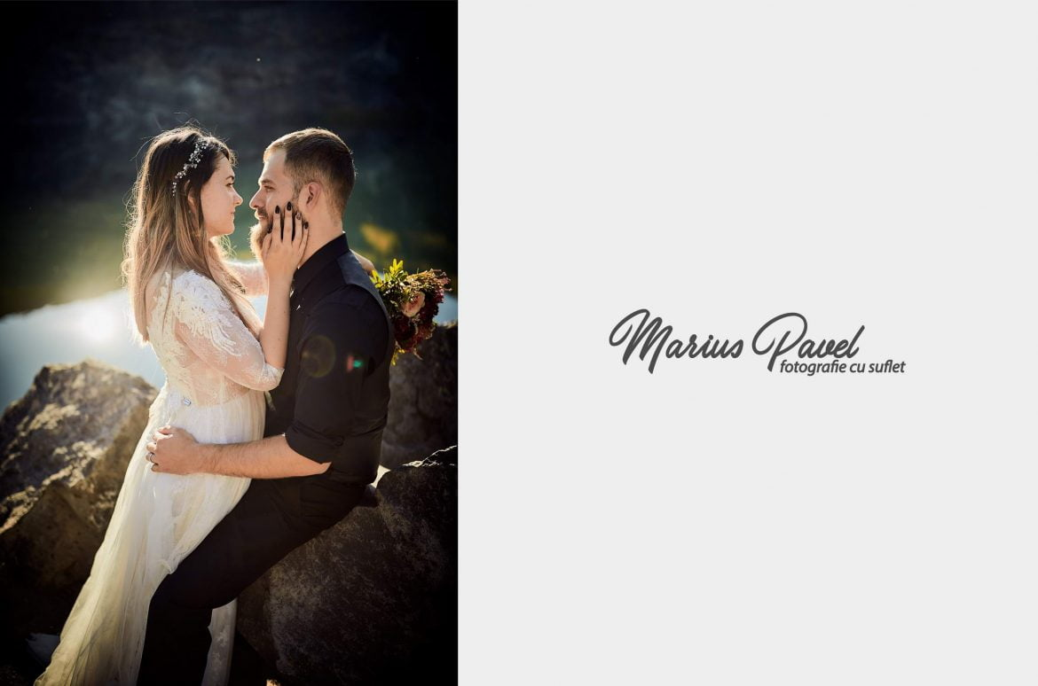 Trash the dress in familie