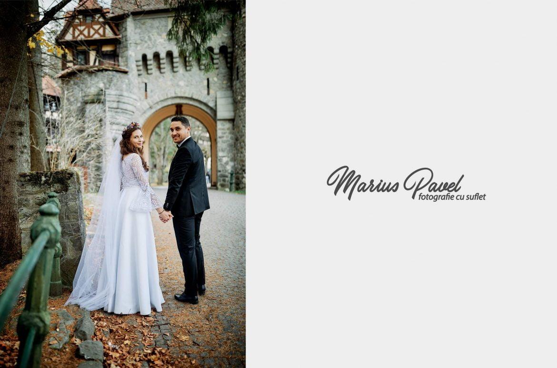 Trash the dress la Castelul Peles
