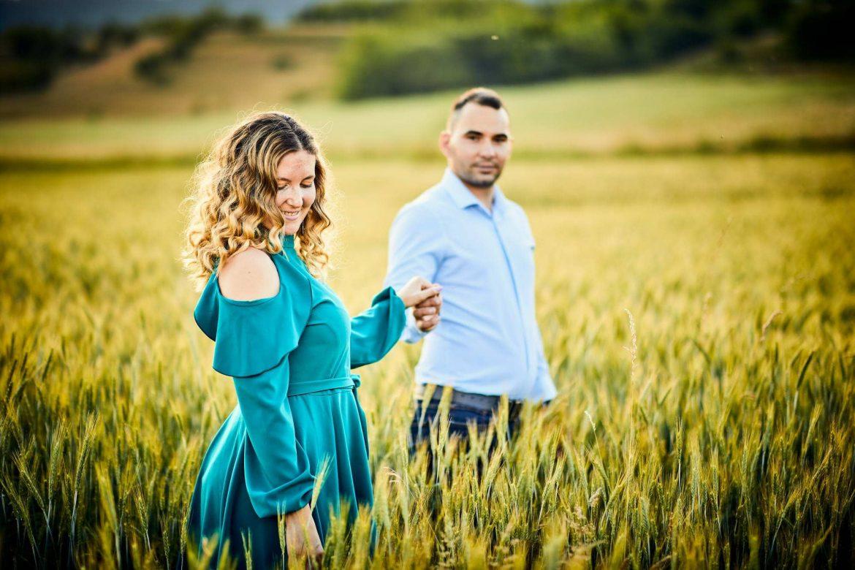 Fotografii De Cuplu In Lanul De Grau (4)