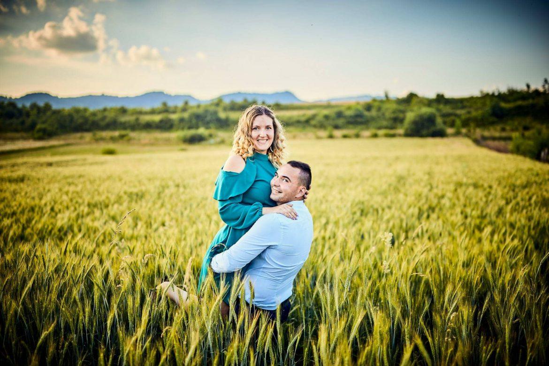 Fotografii De Cuplu In Lanul De Grau (5)
