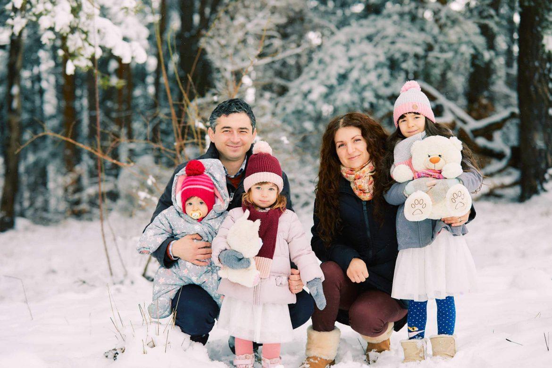 Sedinta Foto De Familie Iarna La Munte 1