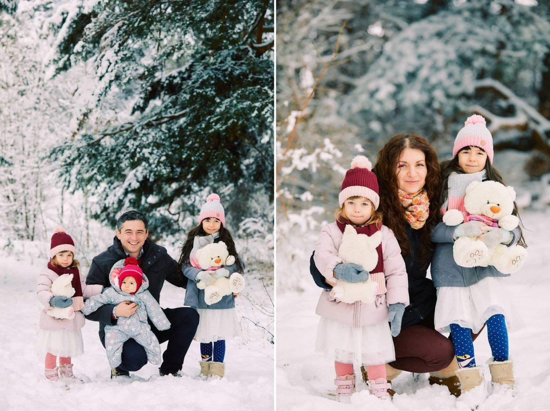 Sedinta Foto De Familie Iarna La Munte 2