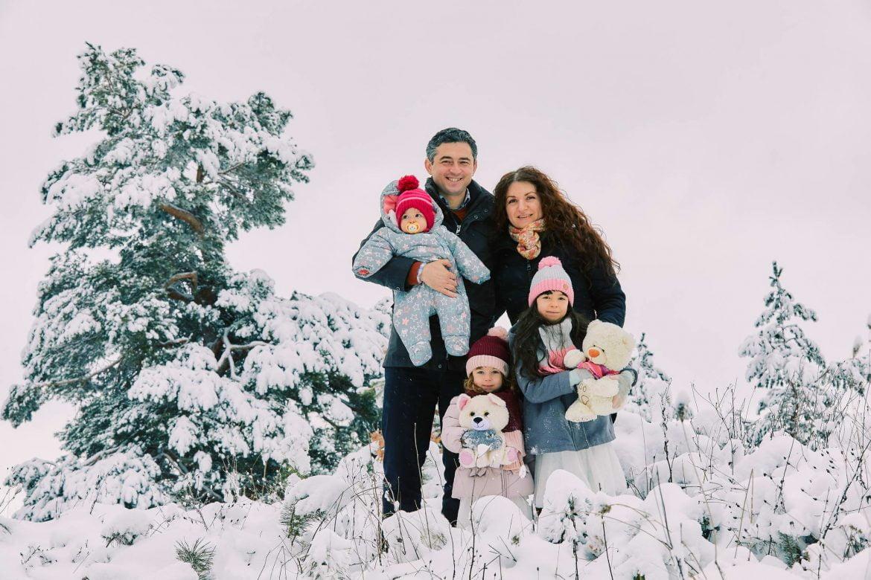 Sedinta Foto De Familie Iarna La Munte 5