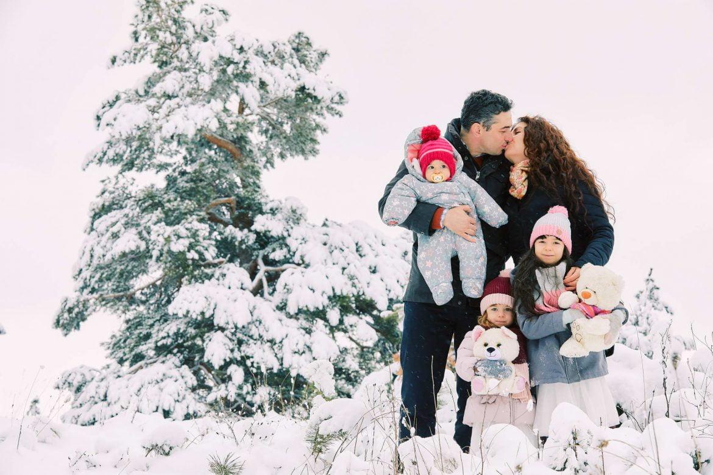 Sedinta Foto De Familie Iarna La Munte 6