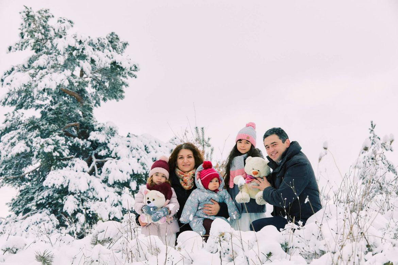 Sedinta Foto De Familie Iarna La Munte 7