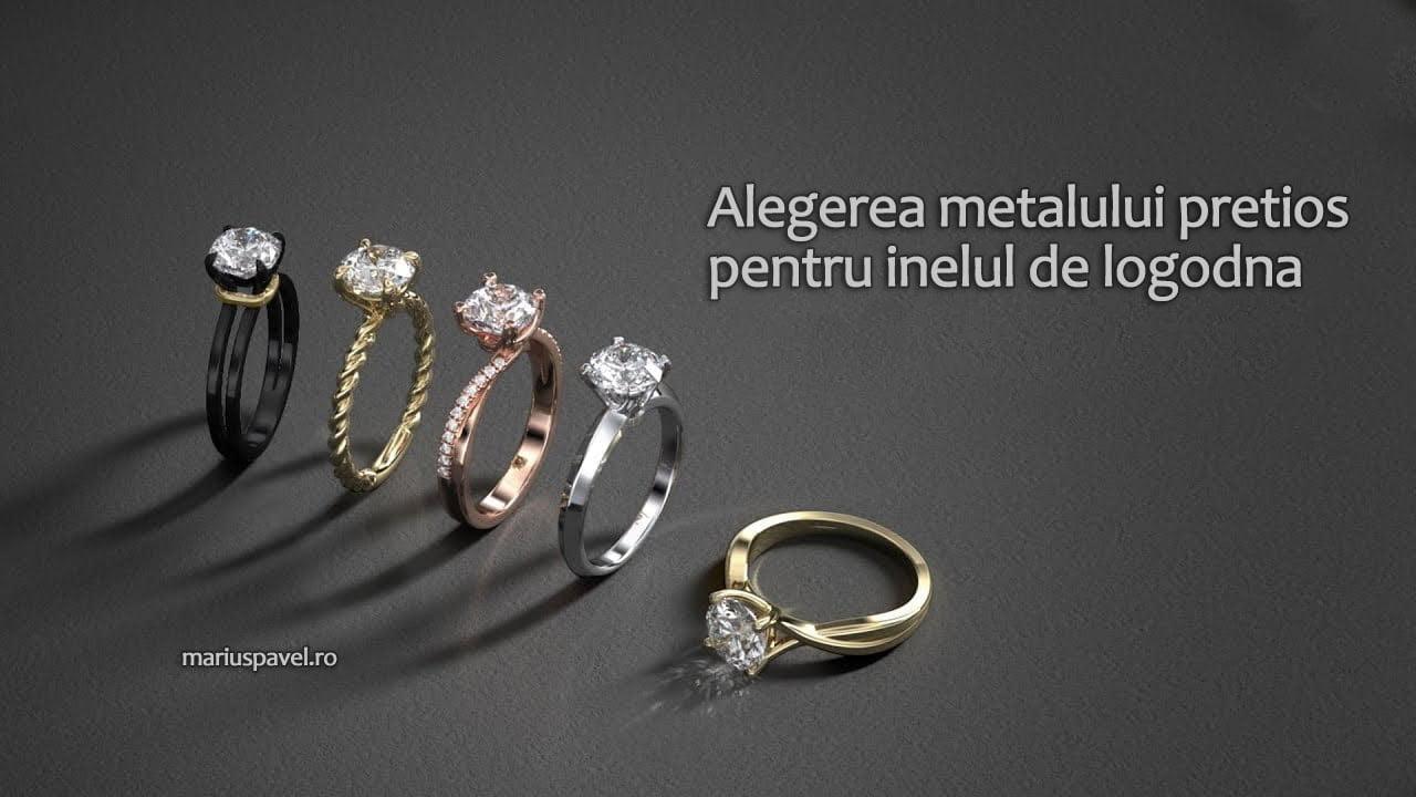 Alegerea Metalului Pretios Pentru Inelul De Logodna