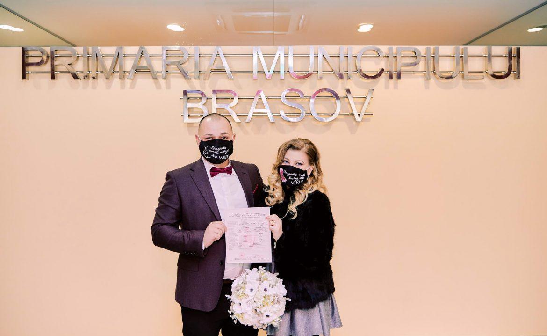 Cununie Civila De Valentine's Day La Primaria Brasov (10)