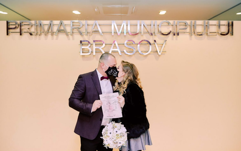 Cununie Civila De Valentine's Day La Primaria Brasov (11)