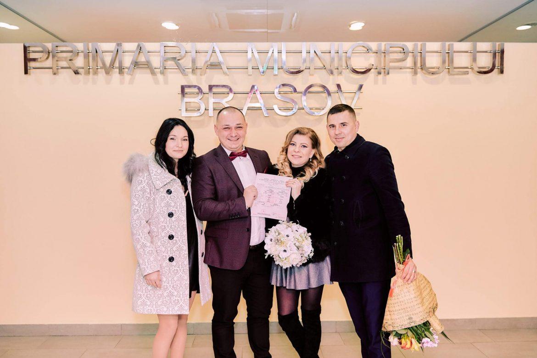 Cununie Civila De Valentine's Day La Primaria Brasov (13)
