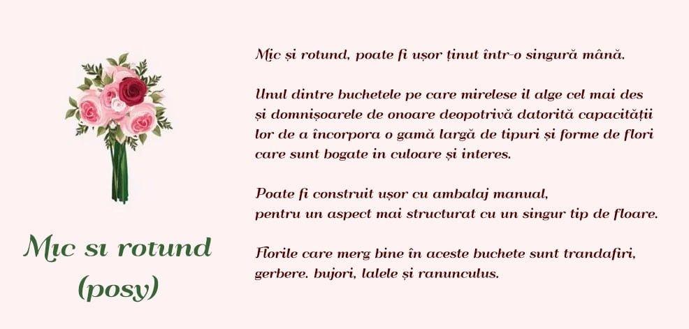 Tip Buchet De Mireasa Mic Si Rotund