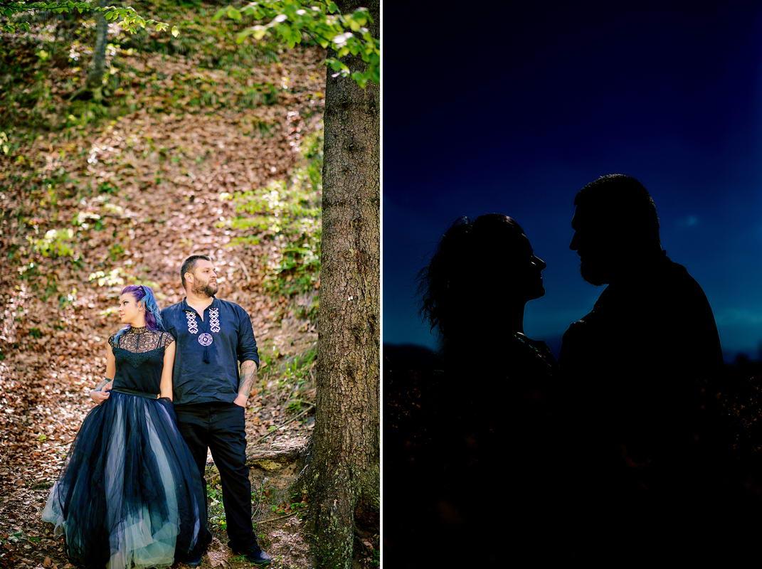 Sedinta Foto Cuplu La Cascada Urlatoarea De La Vama Buzaului (24)
