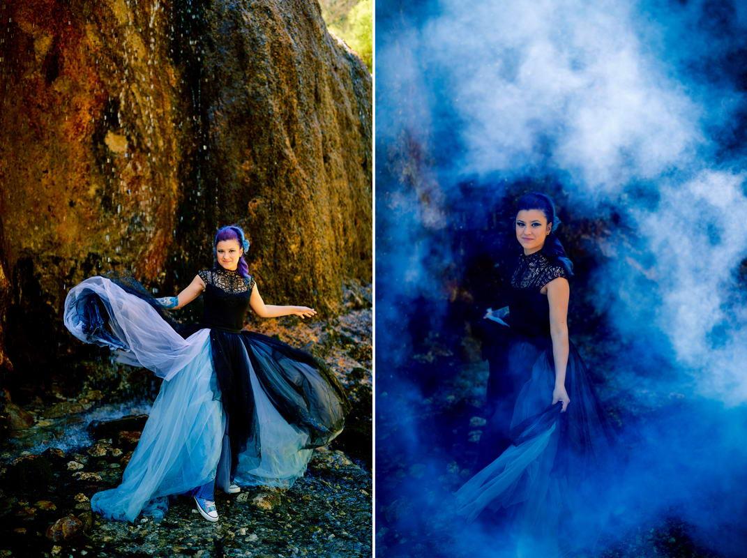 Trash The Dress Cascada Urlatoarea De La Vama Buzaului (4)