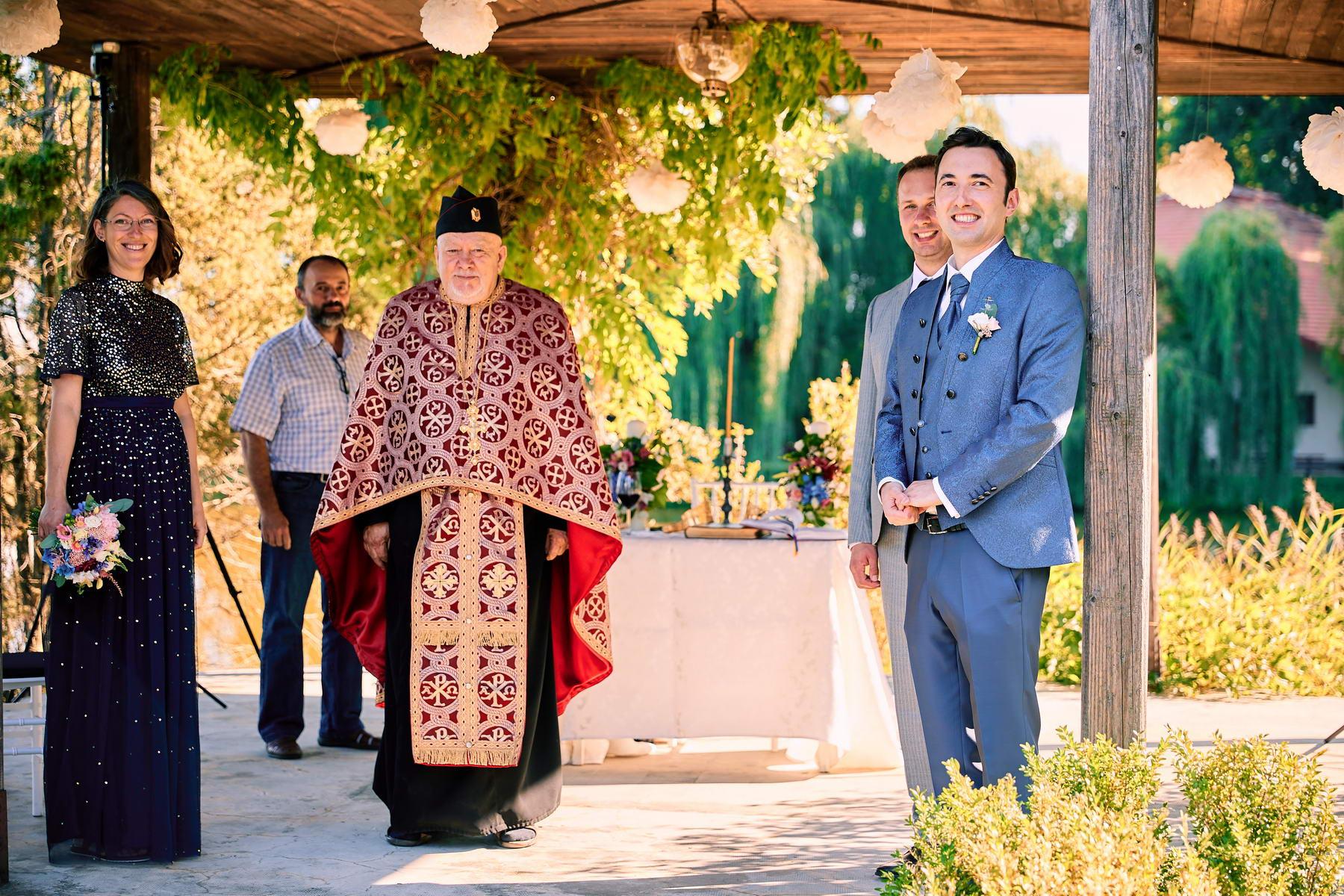 Fotografii Cununie Religioasa In Aer Liber Yaz Harman 4