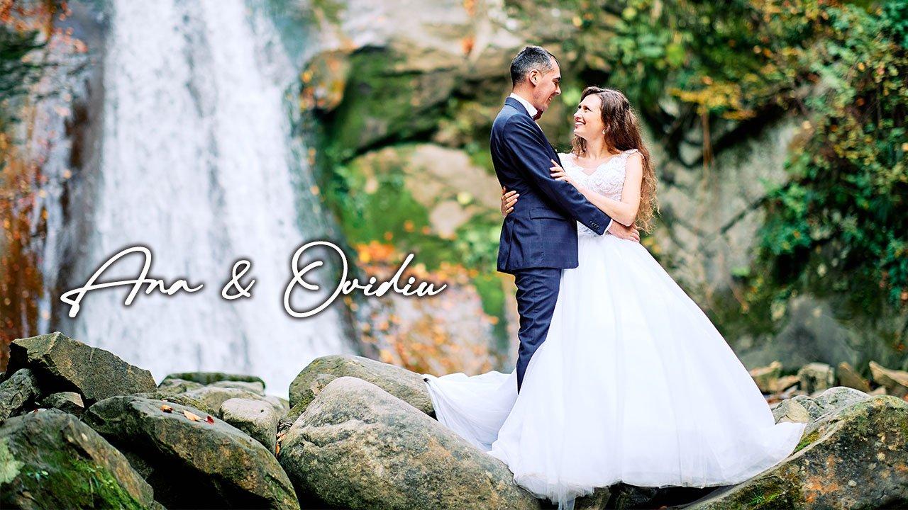 Clip nunta lac Siriu si cascada Pruncea